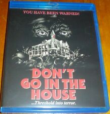 DON'T GO IN THE HOUSE (1980) - OOP Scorpion Releasing Blu-ray / Limited Edition
