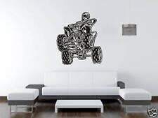 Quad Bike Motor Bike ATV Wall Art Sticker Free Postage