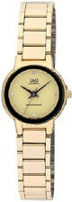 Q&Q by Citizen Q211-010Y Museum Gold Crystal Dial Women's  Watch ~ GREAT GIFT