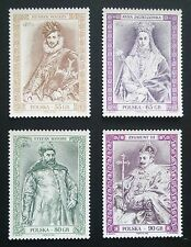 POLAND STAMPS MNH 1Fi3554-57 Sc3394-97 Mi3702-05-Fellowship Polish Kings,1998,**