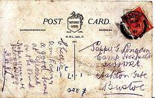 Family History Postcard - Sapper Longden? - Ashton Gate - Bristol - Ref 1200A