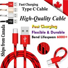 Fast Charging USB Type C Cable Samsung Galaxy S10 S9 S8 Plus S10e Note 9 10 10+