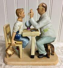 1976 Norman Rockwell Figurine Optometrist Perfect Condition Rare