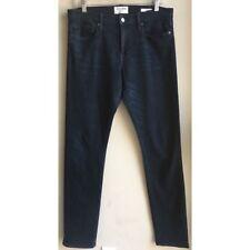FRAME Jeans L'Homme Denim Mens Size 32 Cotswolds Slim Fit Dark Blue Wash