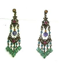 New Fashion Chandelier Hanging Stone Earrings