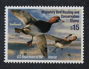 CKStamps: US Federal Duck Stamps Collection Scott#RW71 $15 Mint NH OG