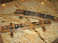 Kentucky whiskey barrel stave 5 beer tap handle display stand