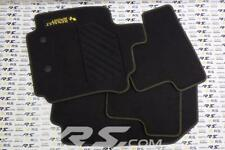 New GENUINE Renault Sport CLIO III RS 197 200 floor mats carpet velor embroidere