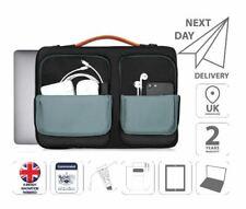 """13.3"""" Laptop Sleeve Shoulder Bag Case Black Grey is0801"""