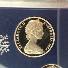 1984 20 cent Proof Coin in 2 x 2