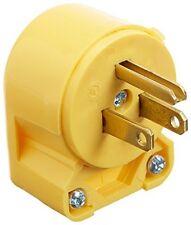 Eaton 4867AN 15-Amp 3-Wire 125V/AC 2-Pole Heavy Duty Grade Vinyl Plug, Yellow