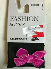 53fcac67c Calzedonia soft socks with glittery bow