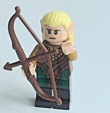 LEGO Legolas Greenleaf Minifig long bow LORD OF THE RINGS HOBBIT LOTR 79001 BBP