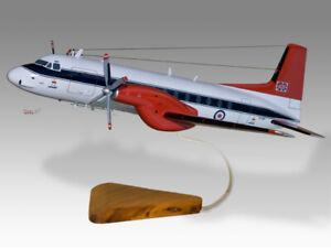 Hawker Siddeley HS-748 Andover CC2 RAF Queens Flight Wood Handmade Desktop Model