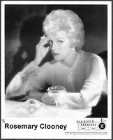 Vocalist Rosemary Clooney LOT 4 Original 1990s Promo Portrait Photos Jazz