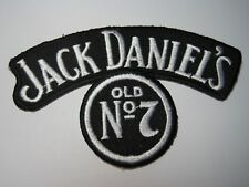 JACK DANIEL'S OLD No 7 PATCH SMALL CREST / CAP SIZE LOOK AND BUY SEW OR GLUE ON