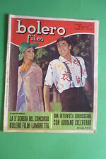 BOLERO 851/1963 ADRIANO CELENTANO MARISA DEL FRATE JOHNNY DORELLI LILLA FERRANTE