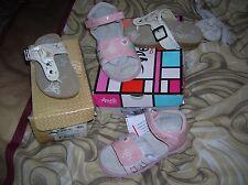 lot 2 p chaussures fille NEUVES sandales GBB  24 CUir val 65 eu + balducci