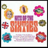 60's (2 CD) KINKS~ DONOVAN~SEARCHERS~PETULA CLARK~SMALL FACES~HUMBLE PIE + *NEW*