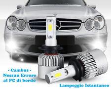 LAMPADE FENDINEBBIA A LED CREE MERCEDES CLK W209 02-09 CAMBUS BIANCO GHIACCIO