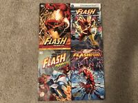 Geoff Johns Flash Lot (Rebirth, Vol. 1, Vol. 2, Flashpoint) 4 Paperback TPB