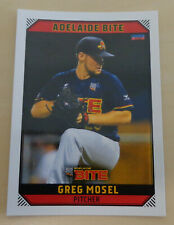 Greg Mosel 2018/19 Australian Baseball League card - Adelaide Bite