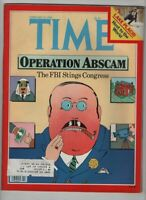 Time Magazine The FBI Stings Congress February 18, 1980 061020nonr