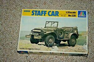 ITALERI DODGE STAFF CAR  1/35 Scale