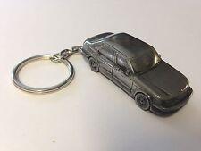 Saab 9.5 4 Door Saloon 3D split-ring keyring FULL CAR ref230