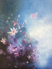"""Oil hand painted Painting """"Seawater Flowers"""" 18"""" x 24"""""""