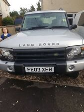 Land rover Discovery 03 FACELIFT selling as spares or repair