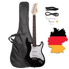 E-Gitarre im Set+Tuner+Verstärker+Zubehör Basswood Ingle Coil Pickup für Anfänge