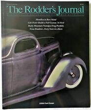 The Rodder's Journal Hot Rod Magazine #27 - 1936 Ford Coupe - Cole Foster