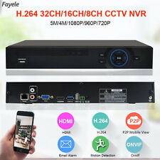 CCTV Security HD IP 5MP 1080P 16CH NVR 1.2U Hi3535 3G WIFI ONVIF Video Recorder