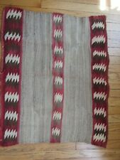 Antique/ old Navajo Single Saddle Blanket / Rug