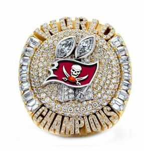 Tampa Bay Buccaneers 2020-2021 LV Championship Ring Tom Brady Gift Fans