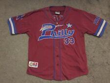 NLBM National Negro League Philly Jersey Red 33 XL Big Boy Headgear