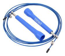Corda TRENAS Speed Rope - manici trasversali - 3 metri - blu - accorciabile