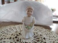 "Lenox  -  Handcrafted -  Barefoot Blessing Figurine    ""Cheerful Giver""  C-4"