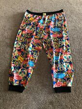 "Krusty The Clown - Simpsons Pyjamas PJ Lounge Sleep Bottoms Pants Size: W 54-56"""