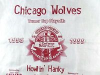1999 Chicago Wolves Turner Cup Hockey Playoffs Howl in Hanky Harlem Irving Plaza