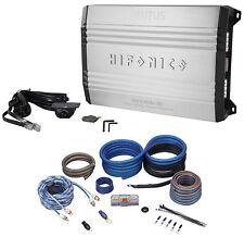 New Hifonics Brutus BRX1516.1D 1500 Watt RMS Class D Mono Car Amplifier+Amp Kit