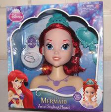 Disney Just Play The Little Mermaid Ariel styling head hair set New flaws
