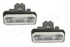 Genuine License Plate Lights PAIR MERCEDES W211 CLS W219 C219 SLK R171 2001-2011