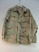 US MILITARY ARMY FIELD SHIRT JACKET COAT DESERT CAMO COMBAT CAMOUFLAGE MED-LONG