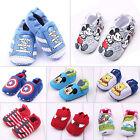Baby Jungen Mädchen Säugling Kleinkind first shoes weich Winter innen Hausschuhe
