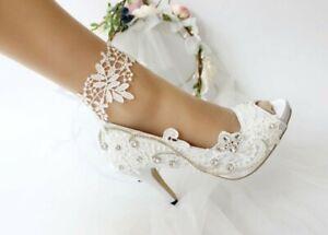 Wedding shoes size 7 Ivory