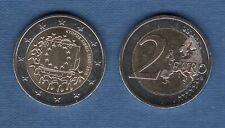 2 Euro Commémo Chypre 2015 Drapeau Européen Cyprus