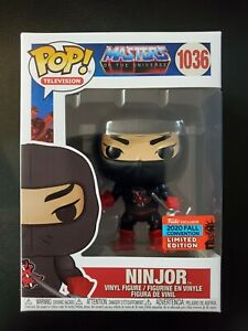 Funko POP! TV: Masters of the Universe - Ninjor (Fall Convention Exclusive)