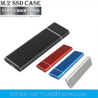Portable USB 3.0 2TB SSD External Hard Drive Desktop Mobile Laptop Mac Hard Disk